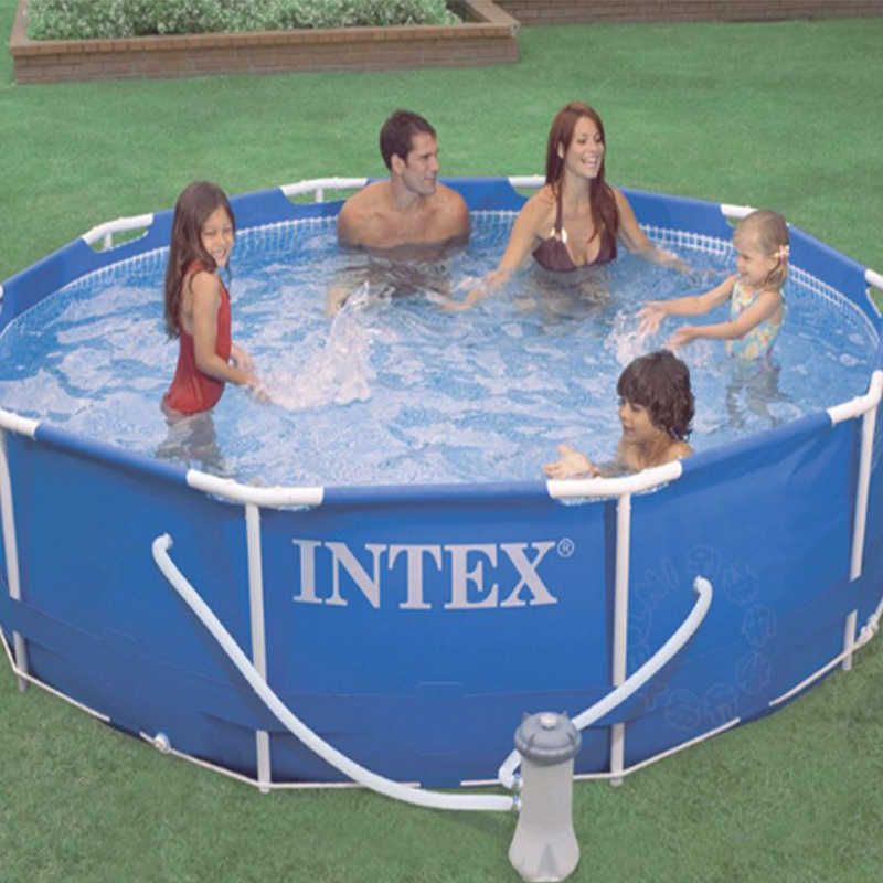 Intex Swimming Pool Water Circulating Filter Flow Clear Filter Pump Water Cleaner Inflatable Swimming Pool Accessory C74001