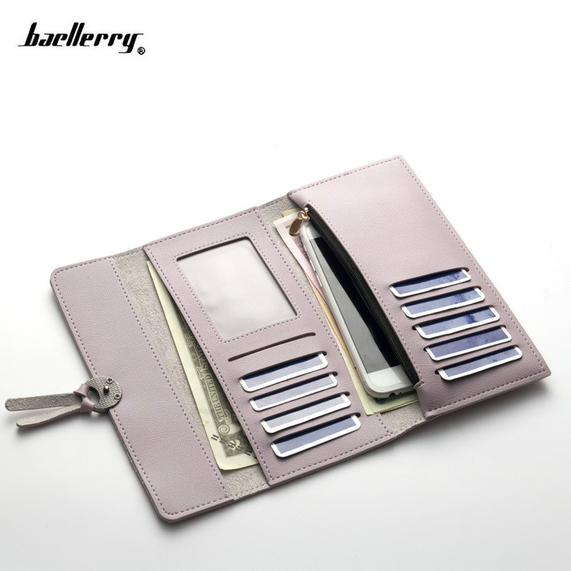 2018 New Female Wallet PU Leather Women Wallets Ladies Long Design Hasp Zipper Purses Clutch Change Coin Card Holders Carteras цена
