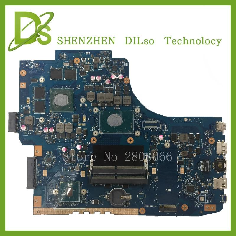 Kefu g752vw motherboar для ASUS gl752vw Материнская плата ноутбука gl752vw плата i7 Процессор с видеокарты 100% тестирование Бесплатная доставка