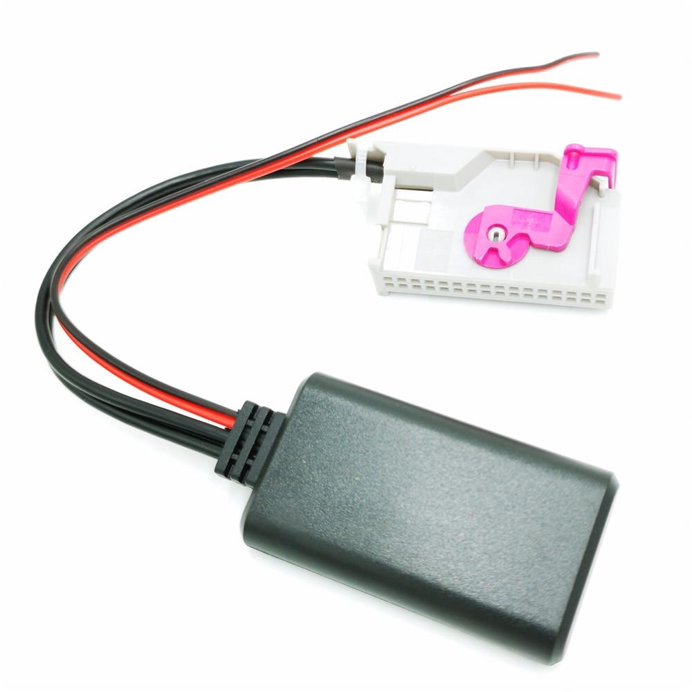 Bluetooth Aux 3.5mm input cable For Audi RNS-E Navigation plus TT R8 A3 A4 A6 A8
