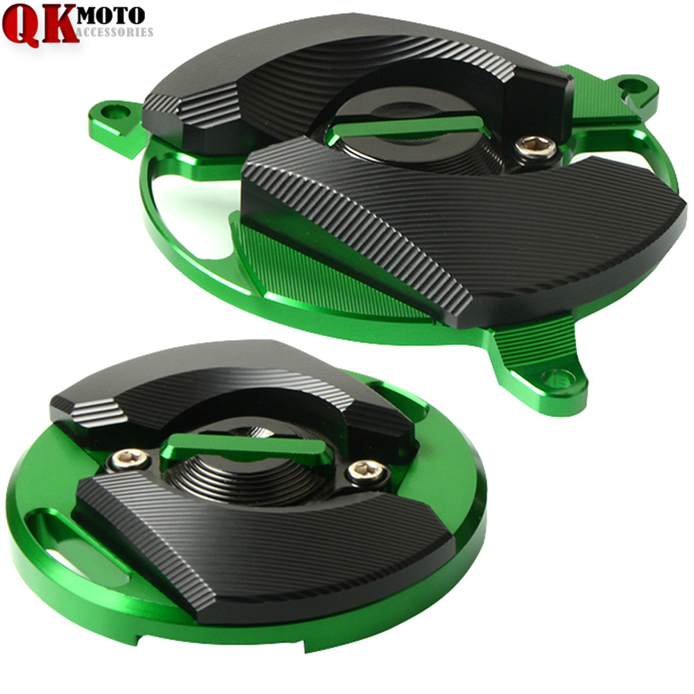 Motorcycle Parts Accessories Moto Fram Slider Engine Guard Case Saver Cover Protection For Kawasaki Z900 2017 2018 in Covers Ornamental Mouldings from Automobiles Motorcycles