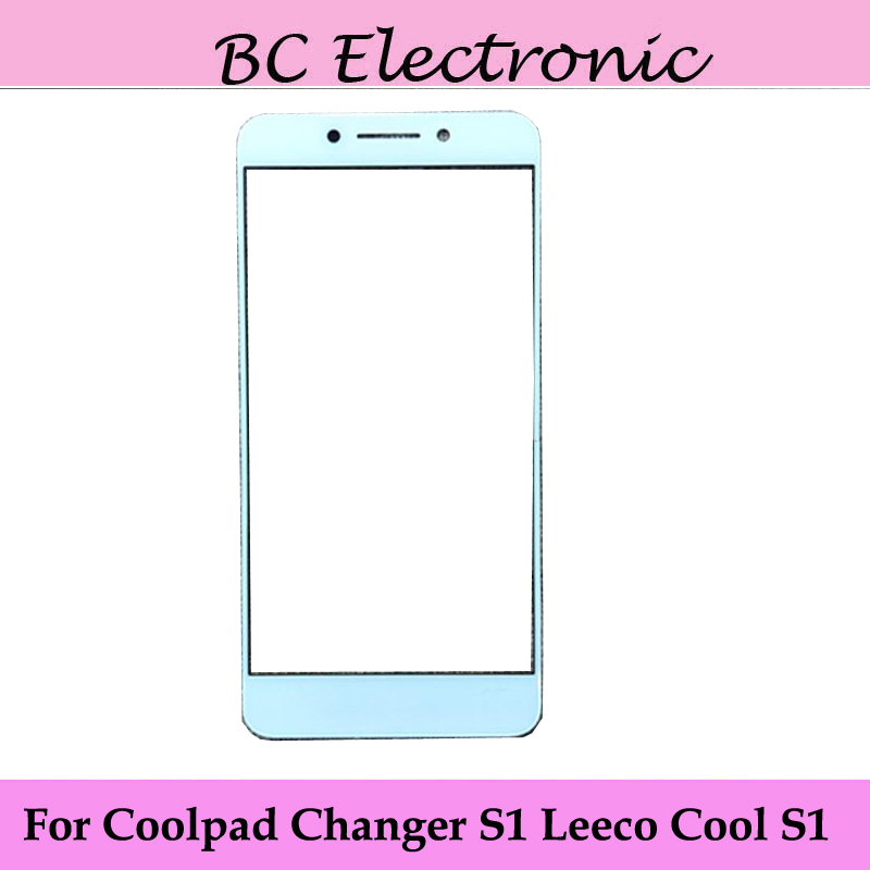 For Coolpad / Letv Cool Changer S1 Outer Glass Lens for Touchscreen Touch screen Outer Screen Glass Cover without flex