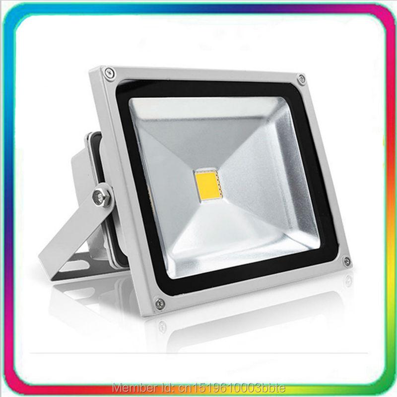 4PCS Garanție 3 ani 100-110LM / W Rezistent la apă Rezistent la lumină LED de inundații LED Floodlight 30W Spotlight Tunnel Bulb