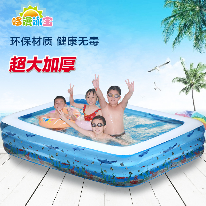 Baby child adult swimming pool ocean ball pool baby super large inflatable bathtub dual slide portable baby swimming pool pvc inflatable pool babies child eco friendly piscina transparent infant swimming pools