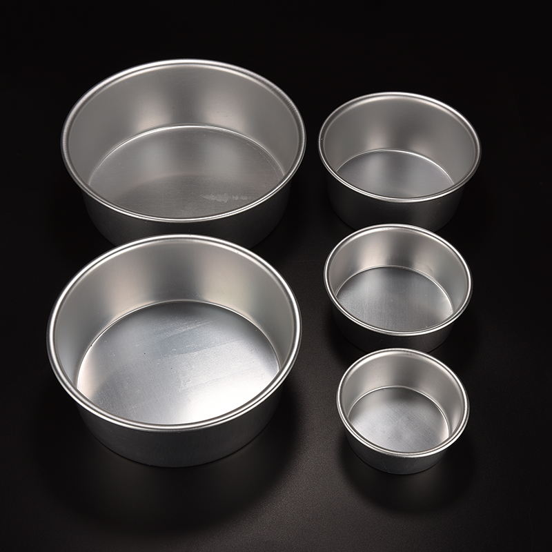 4 5 6 Inch Aluminum Alloy Base Cake Moulds Metal Round