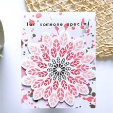 YaMinSanNiO Flower Metal Cutting Dies Frame for Scrapbooking Photo Album Paper Card Decorative Gift Making