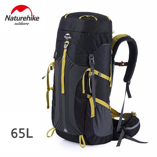 Naturehike 65L Backpacks - NH16Y065-Q Black