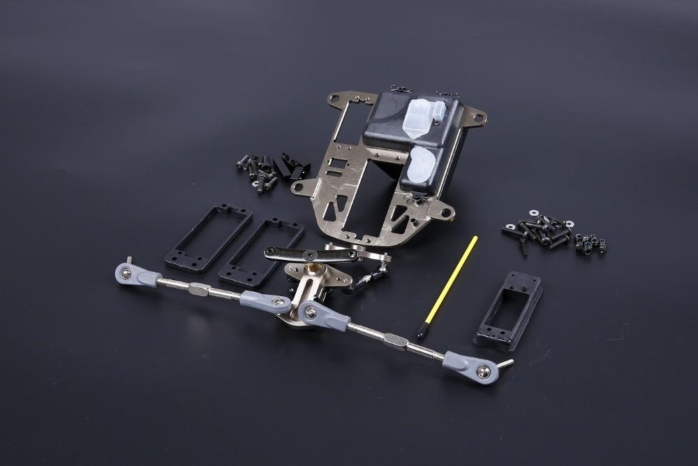 CNC BAJA 5b 5t 5sc metal symmetrical steering Kits (plastic rod version) 85280 cnc fuel tank cnc fuel cap for baja 5b 5t 5sc 85214 free shipping