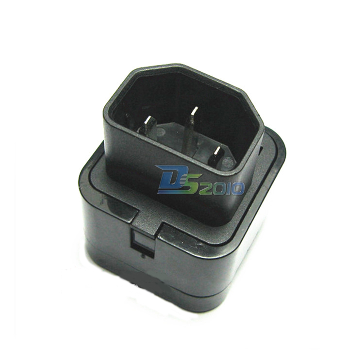 PDU UPS IEC C14 To Universal Female AU US UK EU C13 Socket Power Adapter AC Plug@&ifa