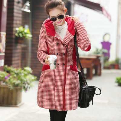 Fashion Women Winter Coats Hooded Medium long Thickening Warm Cotton Coat Women Elegant Slim Big yards Leisure Coat M-4XL A3865 цены онлайн