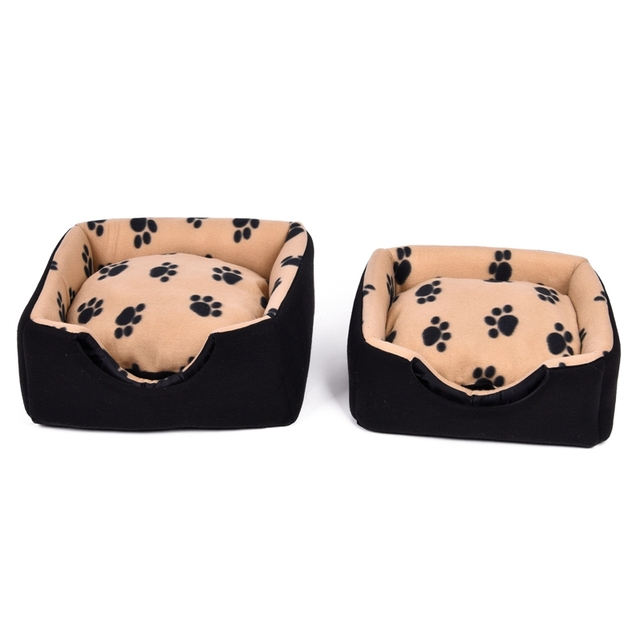 Multifunctional Cat House with Paw Prints Pattern