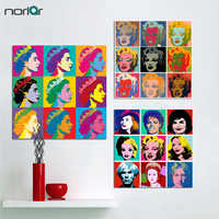 Canvas Painting Wall Art Andy Warhol Marilyn Monroe Art Prints Nature Wall Pictures Cuadros Painting Prints On Canvas No Frame
