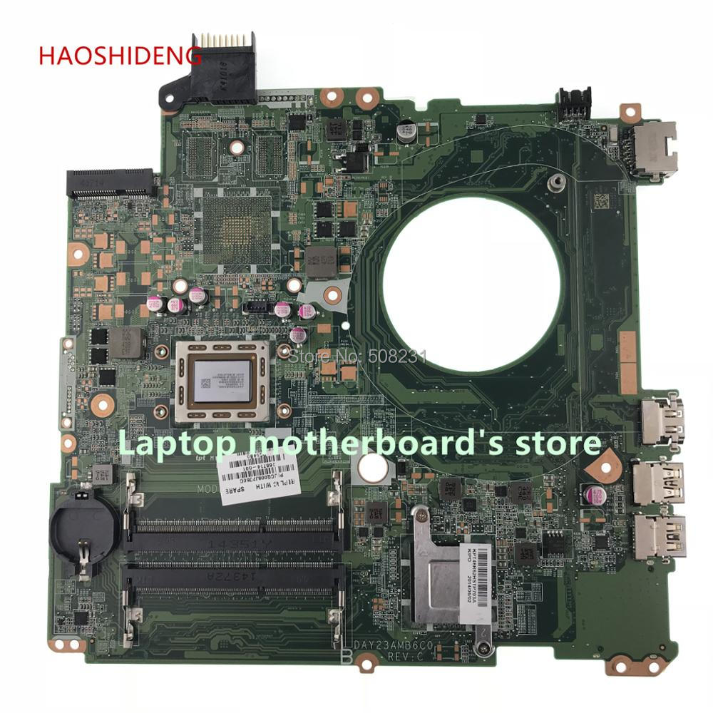 HAOSHIDENG DAY23AMB6F0 766714-501 766714-001 mainboard For HP pavilion 15Z-P 15-P Laptop Motherboard A8-5545M fully Tested for hp pavilion tx1240ef notebook 441097 001 laptop motherboard for amd ddr2 100% fully tested working
