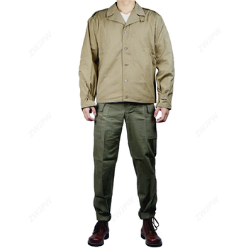 WW2 U.S. ARMY M41 Field Jacket and pants F/W Thin version D-DAY High Quality(no shoes)