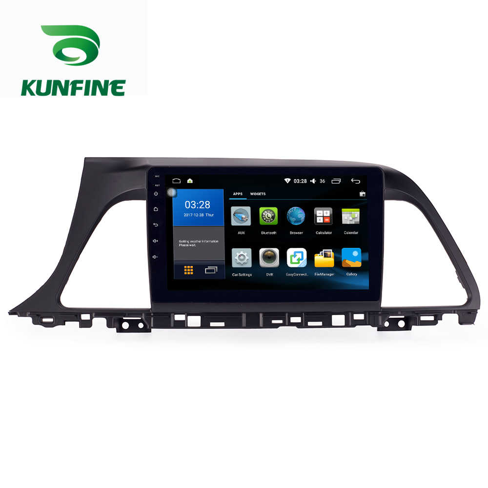אוקטה Core 1024*600 אנדרואיד 8.1 רכב DVD GPS ניווט נגן Deckless רכב סטריאו ליונדאי סונטה 2015- 17 רדיו Headunit WIFI