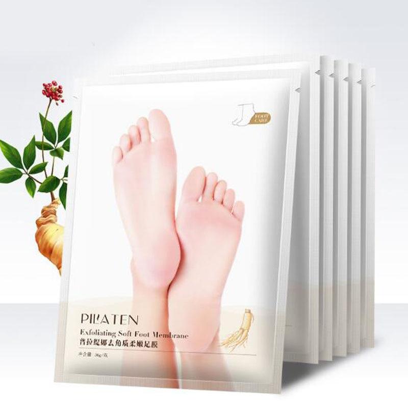 2pcs Mască pentru picioare exfoliante Șosete pentru pedichiură - Ingrijirea pielii