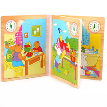 Wooden Puzzle Story Books