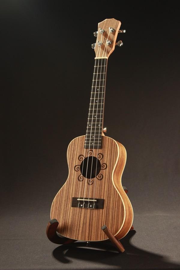 beginners ukulele concert ukulele 23 zebra wood hawaii small guitar ukulele musical instruments. Black Bedroom Furniture Sets. Home Design Ideas