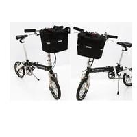 Foldable bike bag frame front mountain basket bicycle giant cycling bicycle bag bike case shopping plastic basket