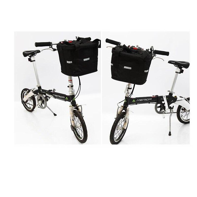 Vélo pliable sac cadre avant montagne panier vélo géant vélo sac de vélo vélo panier en plastique