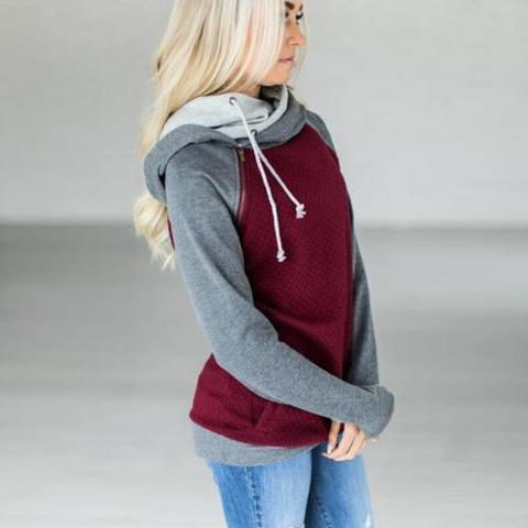 2019 Autumn Winter Plus Size Hoodies Sweatshirts Women Ladies Hooded Sweatshirt Hoodies Women Long Sleeve Female Sweatshirt Pakistan