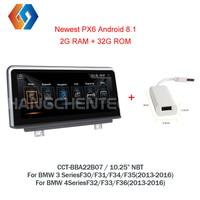 Android 8,1 радио для BMW 3 4 серии F30 F31 F32 F33 F34 F35 F36 2013 2016 наушников Мультимедиа сенсорного экрана gps Nav НБТ CIC 7