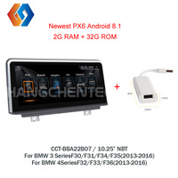 Android 8.1 Radio For BMW 3 4 Series F30 F31 F32 F33 F34 F35 F36 2013 2016 Hotselling Touch Screen Multimedia GPS Nav NBT CIC 7