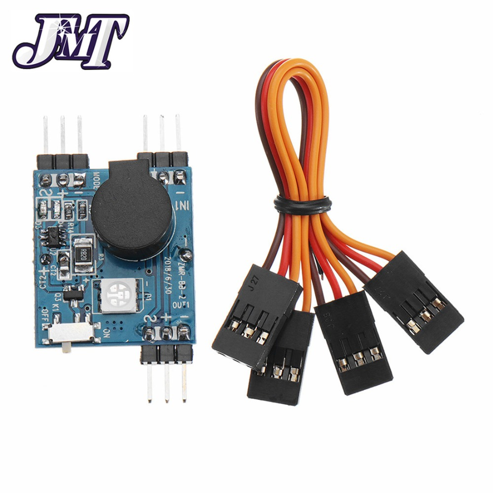 Mini FPV Drone Finder BB <font><b>Buzzer</b></font> Alarm with LED Light 5-8V Tracker <font><b>120dB</b></font> Sound BB Ring for RC Multicopter Quadcopter image