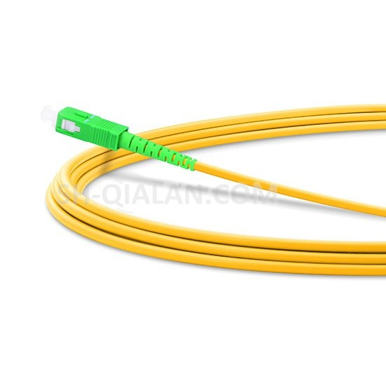Optical Patchcord LC SC APC Fiber Patch Cord G657 Simplex 2 0mm Jumper Cable PVC SM Fiber Optic Cable Bend Insensitive in Fiber Optic Equipments from Cellphones Telecommunications