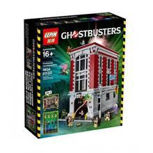Lepin 16001 4695Pcs With Original Box Ghostbusters Firehouse Headquarters Model Building block Compatible With Legoe 75827