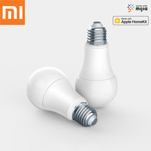 Original Xiaomi Mijia Aqara 9W E27 2700K-6500K 806lum Smart White Color LED Bulb Light Work with Home Kit MI Home App Smart Lamp original xiaomi mijia aqara smart lock xiaomi door lock s2 work with mi home app for xiaomi smart home kit 2018 newest in stock