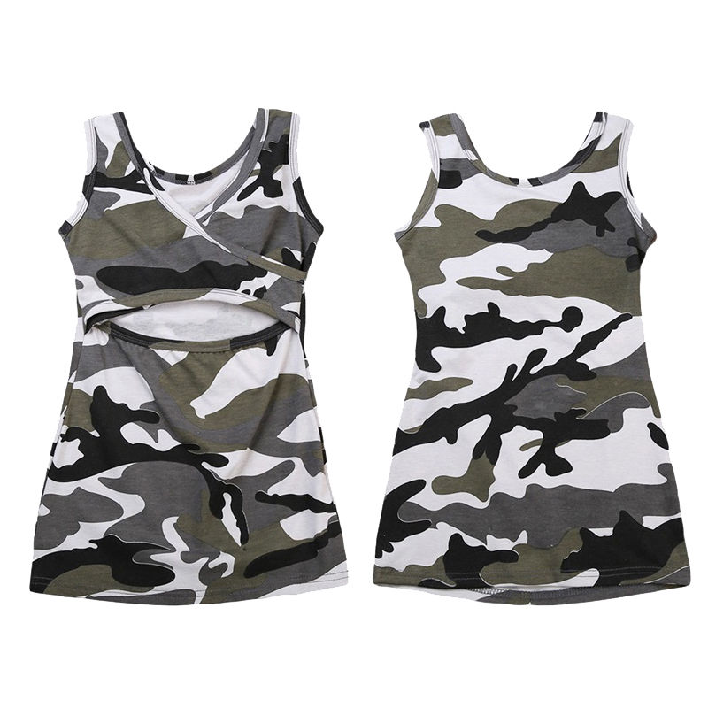 Camouflage Baby Toddler Kids Girls Dress Sleeveless Beach Party Dresses Sundress Summer Kids Gil Clothes ...