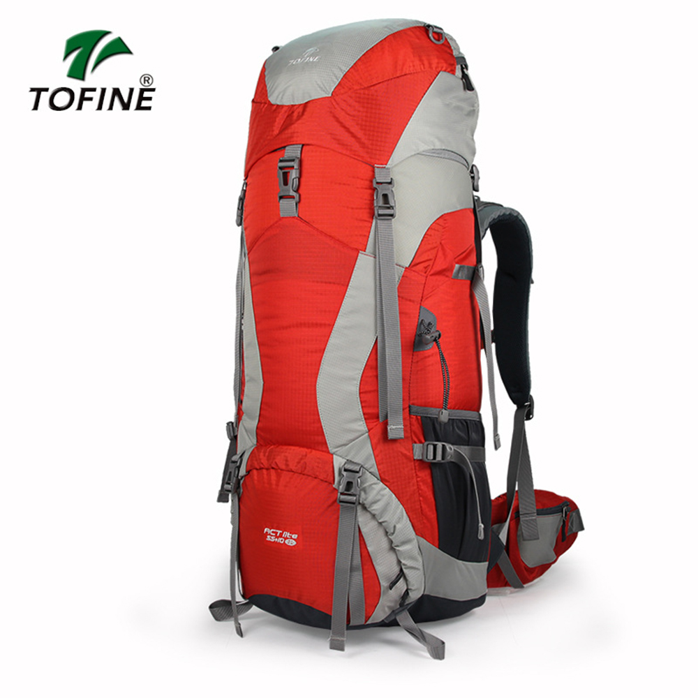 Hot! Large Capacity Outdoor Mountaineering Backpack Multi-functional Climbing Backpack Unisex Travel Hiking Camping Bag 55l large capacity outdoor backpack camping climbing bag waterproof mountaineering hiking backpack unisex travel bag rucksack page 8