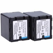 Probty 2Pcs VW-VBN260 VBN260 2500mAh Battery For PANASONIC HDC-TM900 HDC HS900 SD800 SD900 TM800 TM900 HS900