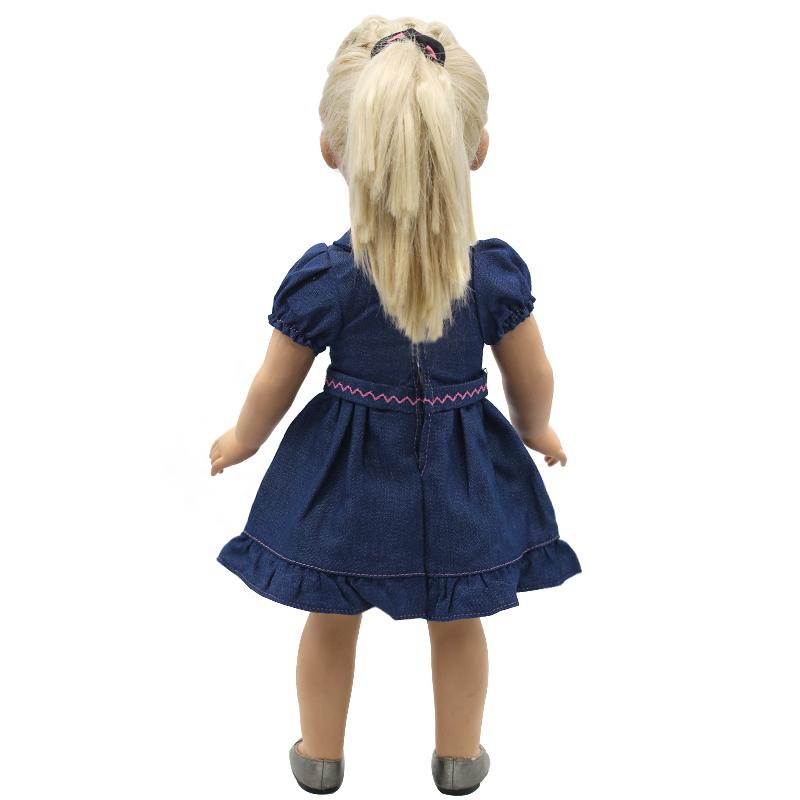 Sinine kleit 43 cm nukule