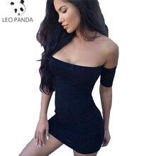 Verano Club fábrica envoltura vestido 2018 Sexy hombro Bodycon mujeres  Slash cuello partido del Halterneck del 33d0c5f180c9