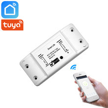 Tuya Smart Life App Wifi Switch Relay Wireless Remote Control Home Automation Works With Alexa Google IFTTT