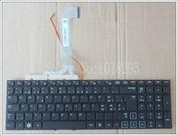ใหม่สวีเดน/SWแป้นพิมพ์แล็ปท็อปสำหรับSamsung RF712 RF710 RF711 RF730สีดำที่มีแสงไฟไม่มีกรอ