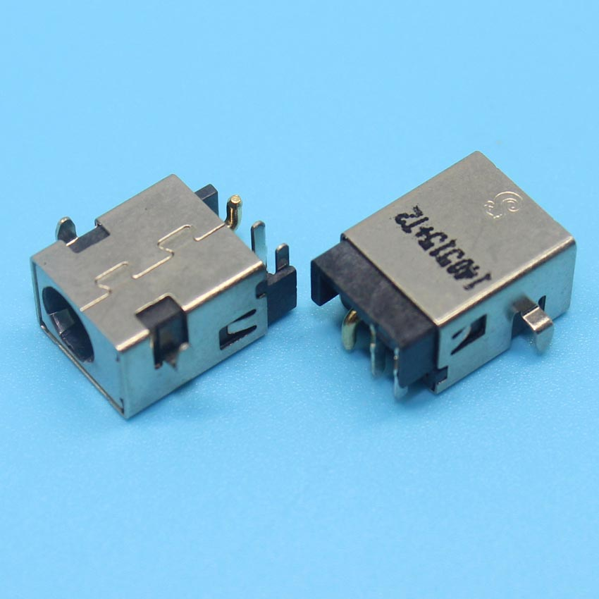 YuXi Free shipping 100X DC Power Jack Connector for ASUS G53 G53S G53J G53SX G53SW G53JW G53JW-3DE G53JW DC Jack brand new dc power jack for asus g71 g71g g71gx g73 g73j g73jh g73jw g73sw x83 x83v x83vm m50vn m50s m50v m51v 2 5mm