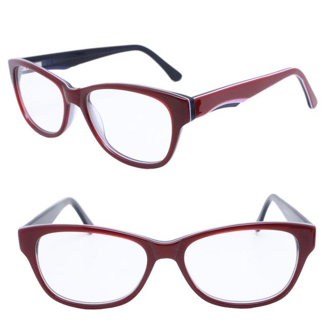 bfcb958ba4 F56 walkers full rim bicolor trendy full acetate with flexible spring hinge classic  Vintage optical glasses frames for wemen