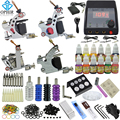OPHIR Professional 354pcs/set Tattoo Kit 4pcs Tattoo Machine & 12 Color Tattoo Ink & 50pcs Needle Tattoo Nozzle Grip Set _TA090