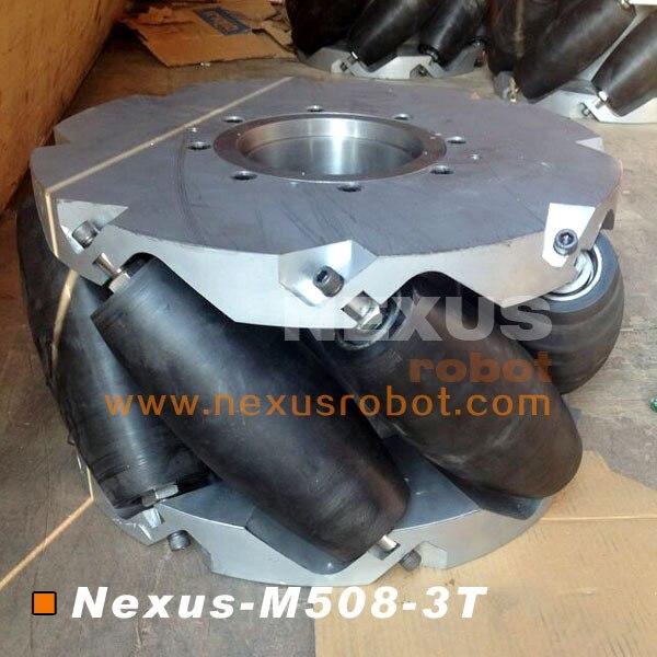20 Inch Heavy Duty Mecanum Wheel Nexus-M508-3T (Kapasitas Muatan: 3 - Perlengkapan sekolah dan persediaan pelatihan - Foto 2