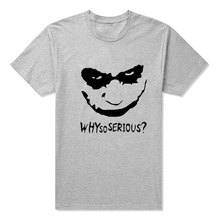 Joker Why So Serious T-Shirt (4 Colors)