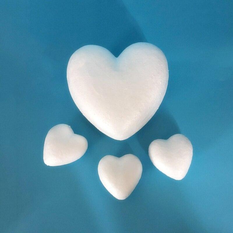 Пенопластовое свадебное украшение персиковый шар в форме сердца Рождественское украшение детские креативные игрушки поделки своими рукам...