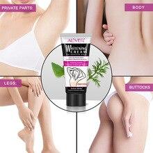 ALIVER отбеливающий крем для подмышек Отбеливание подмышки крем ноги колени личные части тела отбеливание крем-корейская косметика