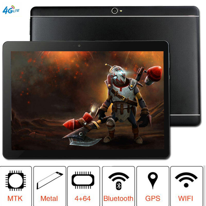 2019 CARBAYTA S109 10.1 Inch Tablet MTK8752 Octa Core 4GB RAM 64GB ROM Dual SIM 8.0MP GPS Android 8.1 1280*800 IPS The Tablet 4G