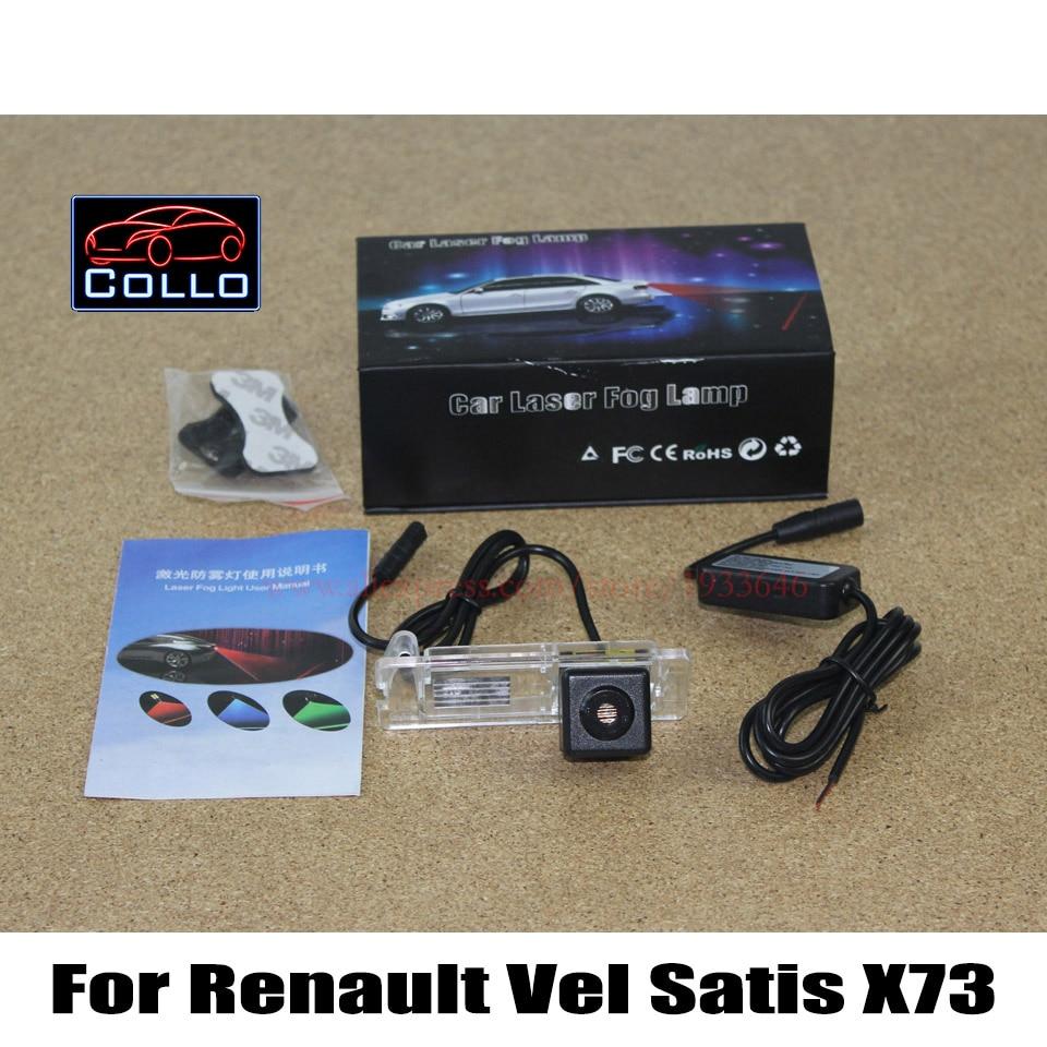 Car Rear Tail Warning Lamp For Renault Vel Satis X73 / External Automobiles for Anti-Collision Rear-end Auto safe Driving Lights for renault vel satis bj0