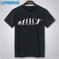 Evolution Handball T Shirt Men Summer Short Sleeve Fashion Cotton Cool Evolution T Shirt Tops Free