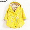 WEONEDREAM New Girl's Fashion Jackets Girls Outerwear Coats Trench Girls Hoodies Jackets Children's Coat Spring Autumn Baby Coat