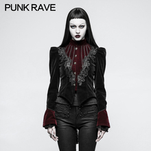 2018 Punk Rave Gothic Scissor-tail Jacket Steampunk steam punk rock dark style fashion women woens top Y769